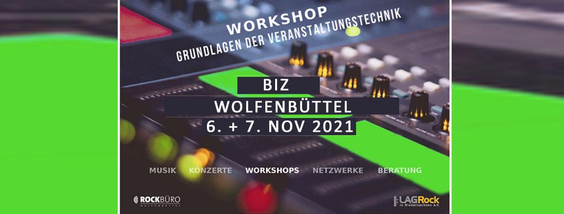 Workshop Veranstaltungstechnik