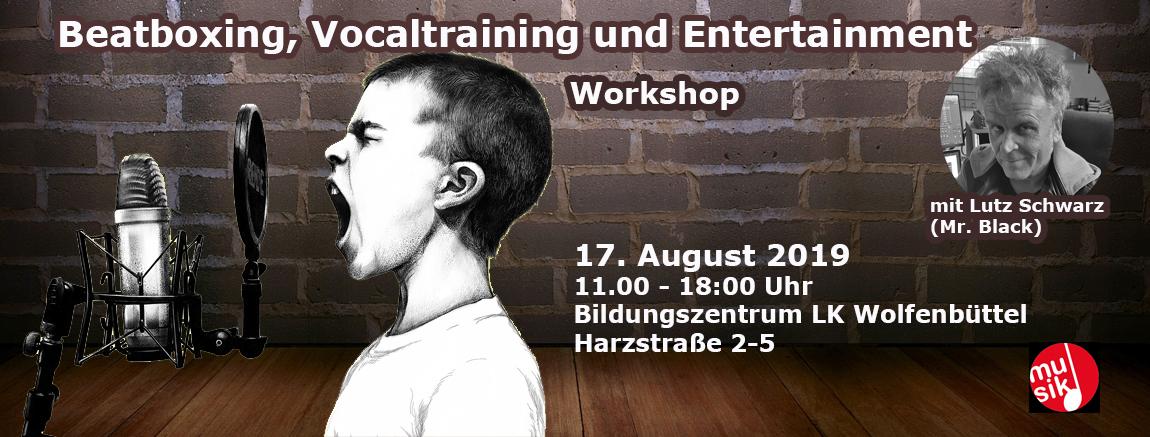 Beatbox + Vocalcoaching- Workshop